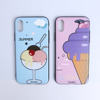 For Iphone X Phone Case, Hot Selling Simple Girl Custom 3D Silicone Phone Case , Design Case Phone Cover For Iphone 6s 6 7 8