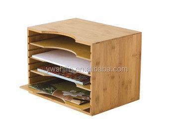 Bambou Enveloppes Cadre,Bambou Dossier,Boîte De Rangement En ...