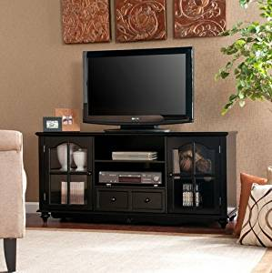 Merveilleux Get Quotations · Hanover Black Modern Entertainment Center TV Stand Media  Center Storage Cabinet With Doors Up To 50
