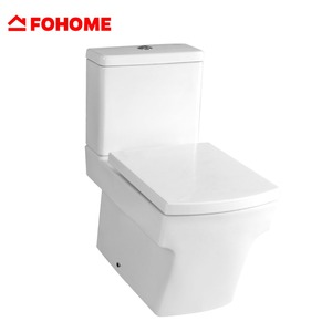 Roca style rapid sewage universal square ceramic toilet bowl price