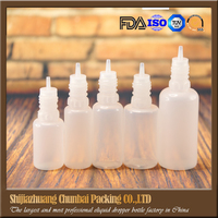 Alibaba supplier PE/PET plastic dropper bottle 10ml 15ml 20ml 30ml 50ml 100ml for eliquid