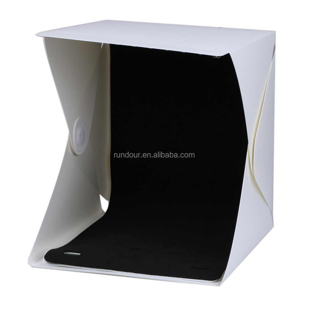 20 led Mini professing Portable Folding lightbox Photography Photo Studio Softbox Light Kit Light box for Digital DSLR Camera