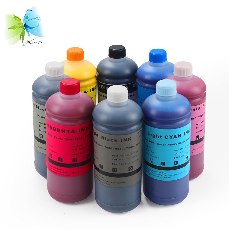 À prova d' água de recarga de tinta Pigmento Para Epson stylus pro 7890 de impressora