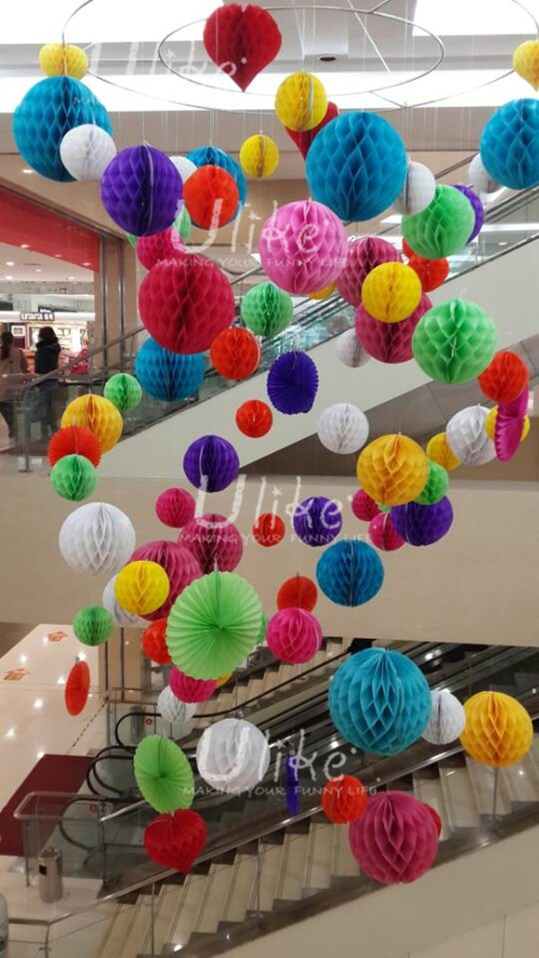 Paper Decoration Balls Gorgeous Party Stage Decorations Club Party Decorations Tissue Honeycomb Review