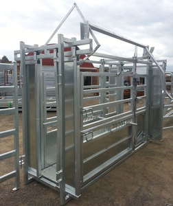 Heavy duty hot dip galvanized Livestock Handling Equipment Vet Cattle Crush