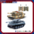 Rotate 350 degrees turret 1/32 double infrared remote control tank battle
