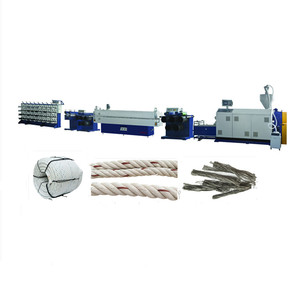 5-30MM PP Danline yarn rope making machine/3 strand pp marine rope production line/ extruder