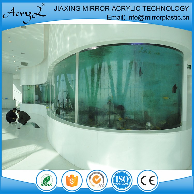 Experienced Factory S-shaped Acrylic Fish Tanks For Sale Cheap