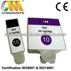 Compatible Ink Cartridge for KODAK 10BK 10CL with Chip