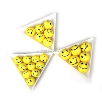 Wholesale 400pcs 14mm Cute Smiling Face Round Acrylic Spacer Beads For Jewelry Making Necklace Bracelet Children DIY