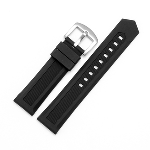 Silicone Rubber Watch Strap Changeable 20MM 21MM Silicone Watchband With watch pin Buckle