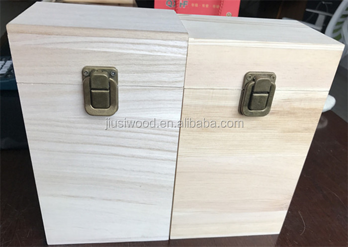 wholesale blank wooden box for gift small wooden storage box