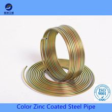 Zinc coated motorcycle brake lining oil and gas pipe hydraulic tube