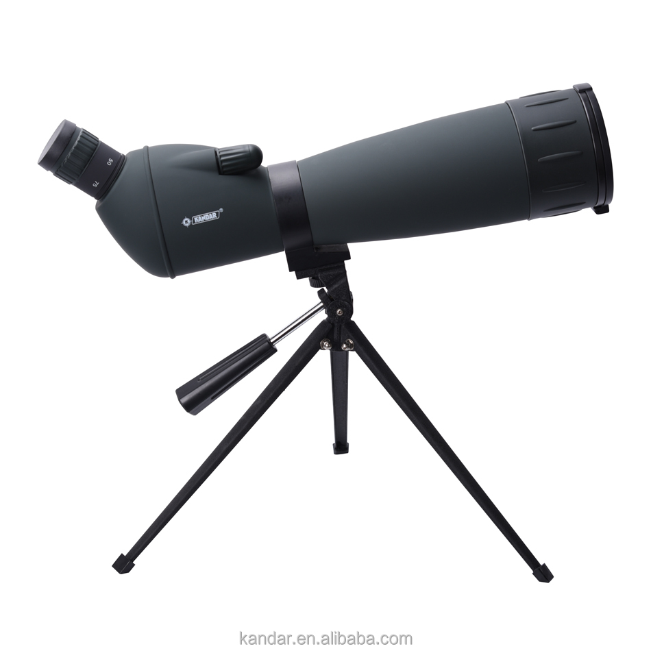 Monocular telescope high definition kandar spotting scope 25-75x75