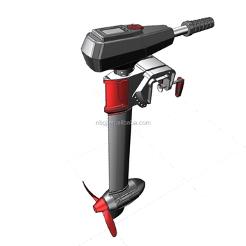 Gengjia 24v 115lbs 3hp brushless electric outboard motor for 15 hp brushless electric motor