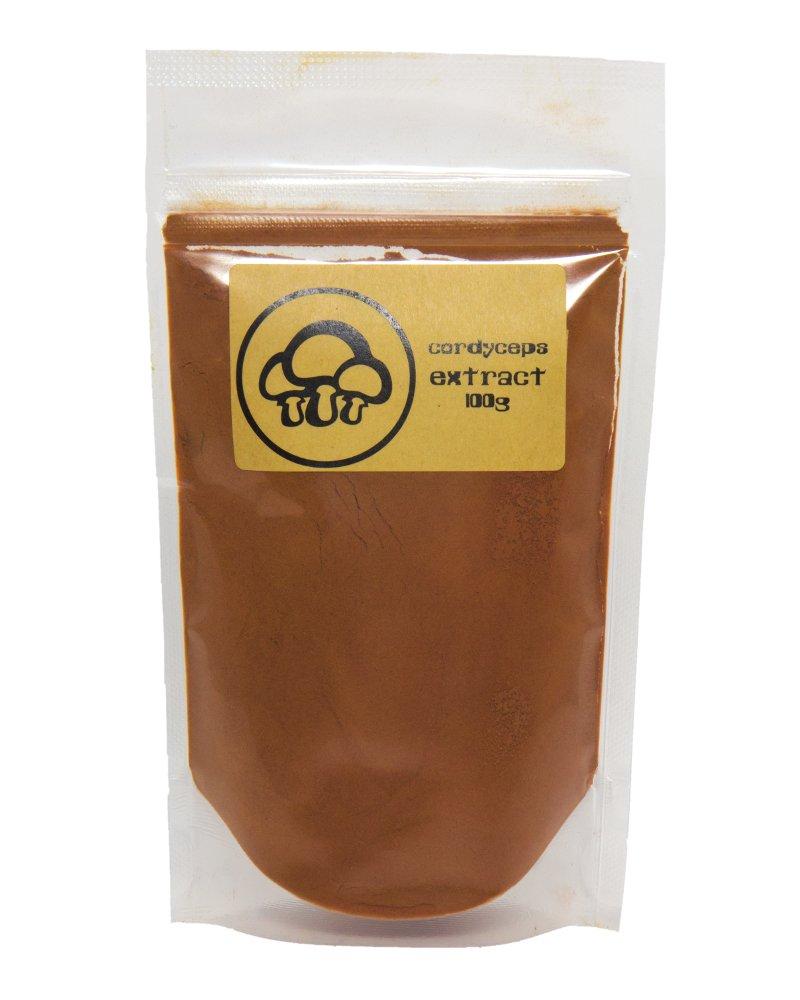 Cordyceps Mushroom Extract Powder by Appropriated Cultures - 100g (3.5oz) bulk powder - Supports Immunity, Energy, Stamina