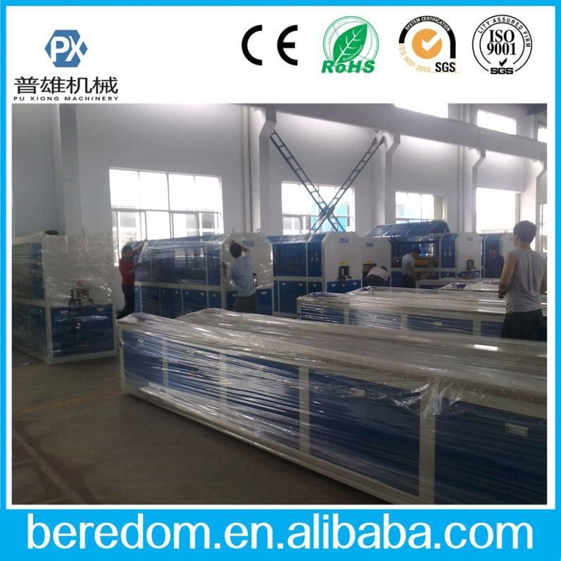 Upvc Screen Frame Fencing Fascia Board Making Machine