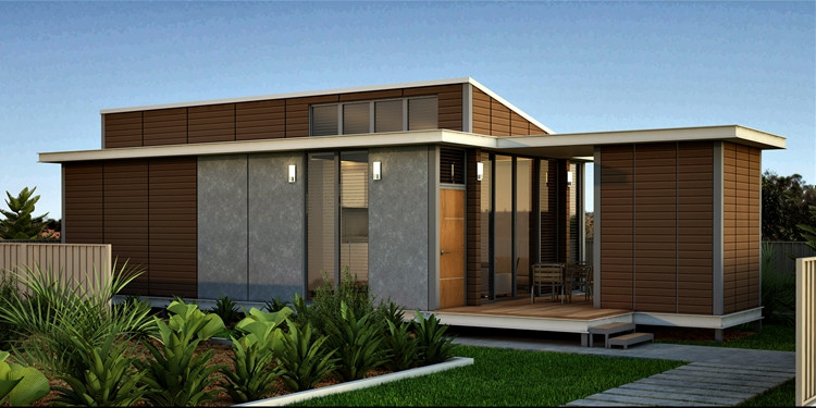 Removable Light Steel Prefabricated Villa House Well Design Luxury Villa House In Light Steel Structure