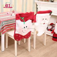 Christmas chair cover chair set of Christmas supplies decorative Christmas gifts