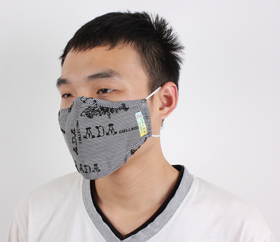 Ppe Washable Dust Mask Face Shield Cloth Mask Respirator