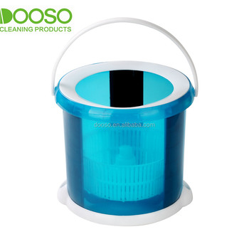 Colorful plastic smart bucket mop used household items for sale