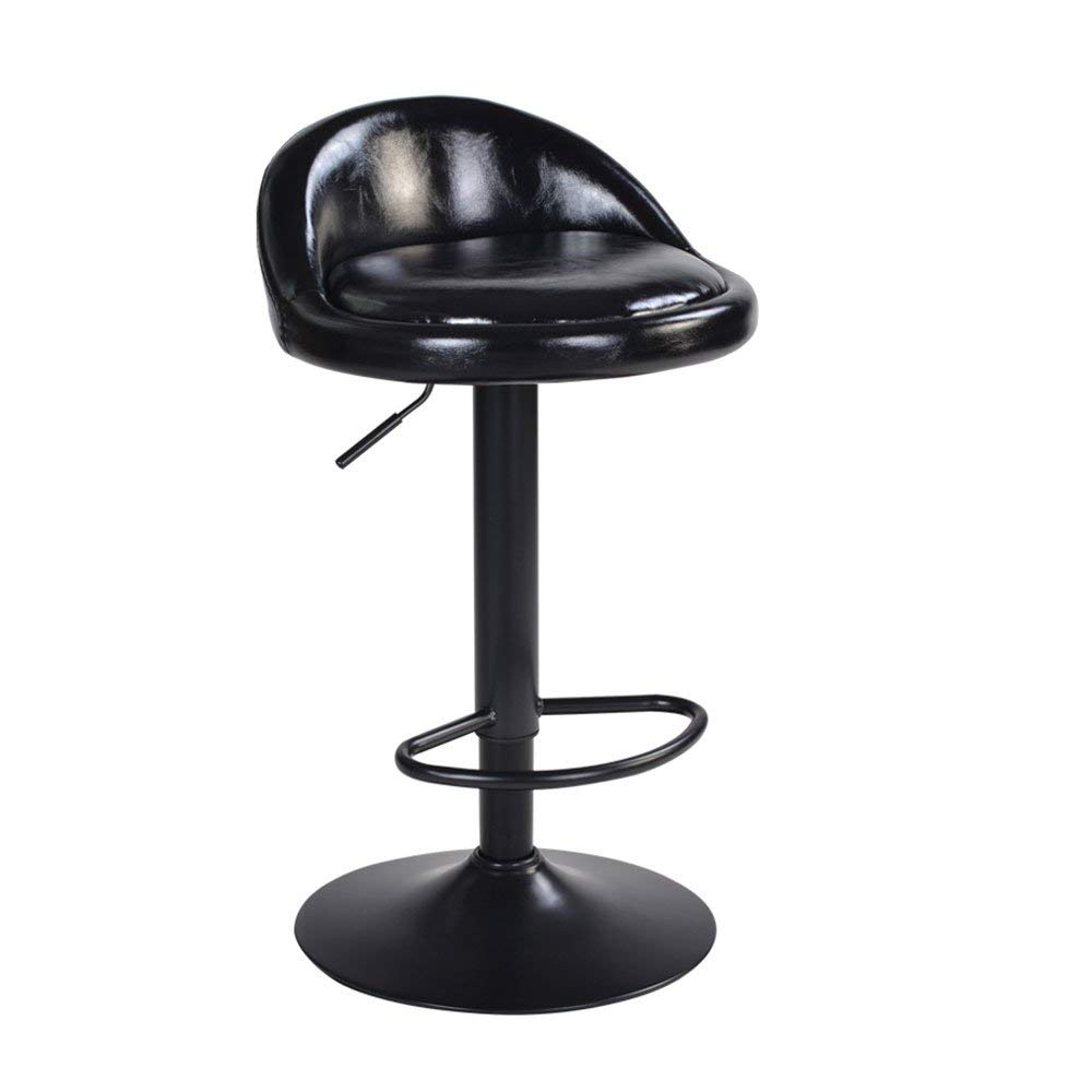 Retro Bar Chair,Modern Minimalist Bar Chair Lift Chair Lifting And Revolving Chair, Bar Stool, High Stool [5 Styles/3 Sizes] Bar stool (Color : A)
