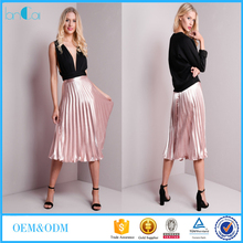 Satin Pleated Skirt, Satin Pleated Skirt Suppliers and ...