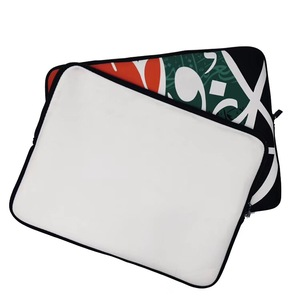 Sublimation Printing Laptop Sleeve China Manufacturer Custom Pattern Waterproof Zipper Neoprene Laptop Bag Sleeve with Handle