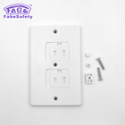 Electric Outlet Covers Baby Safety Wall Socket Plugs Self Closing Plate Alternate for Child Proofing