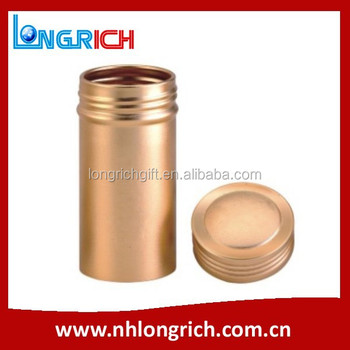 Fancy Packaging Empty Aluminum Can/ Multi-Functional Small Metal Can With Screw Lid