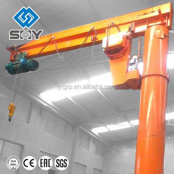 Workshop Arm ZB A Model Column Swing Pillar Jib Crane Stainless Steel Swivel