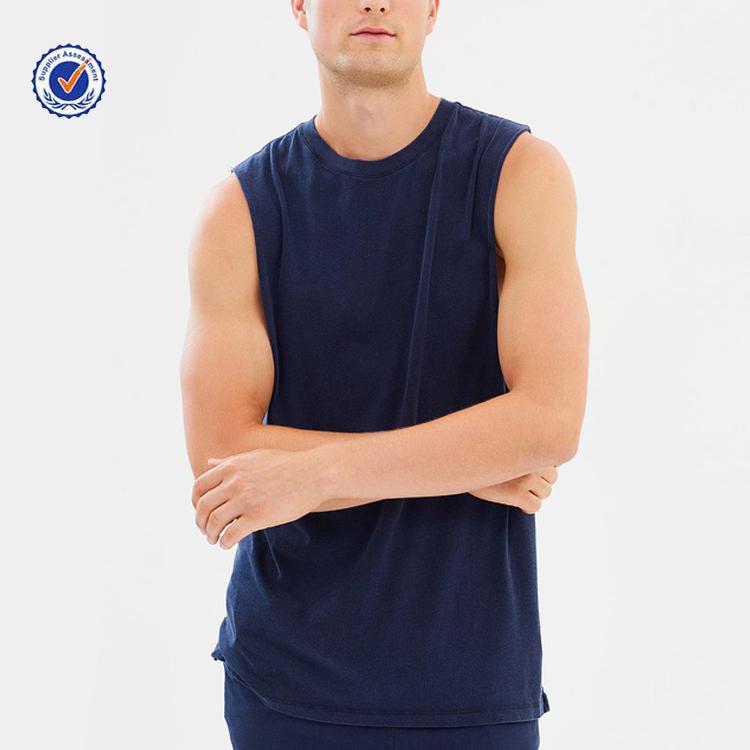 جديد مخصص اللياقة البدنية تانك القمم رجالي ملابس رياضية الصالة الرياضية