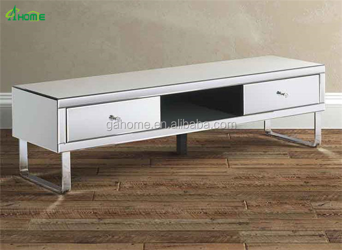 Chelsea Mirrored Media TV Cabinet Stand