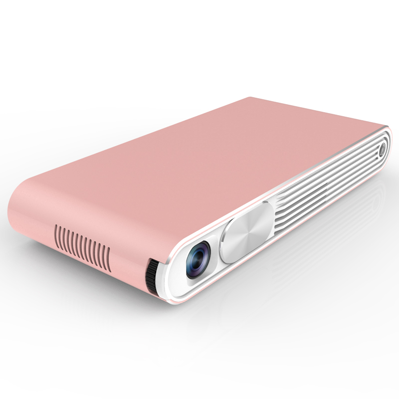 Smart Android 4.4 Build in Battery Laser Mini 3d Led Mini Beam Projector