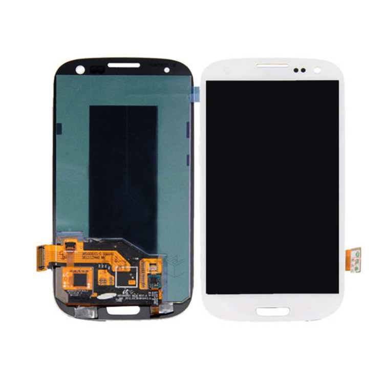 Lcd para samsung galaxy s3 i9300 i535 i747 t999 lcd touch screen