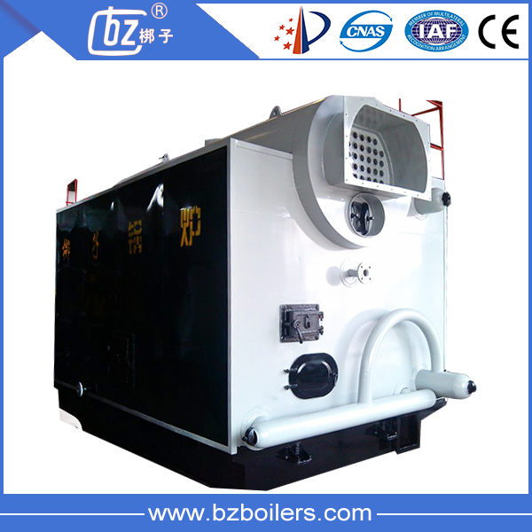 Horizontal automatic fuel feeding hot water heater coal fired hot water heater