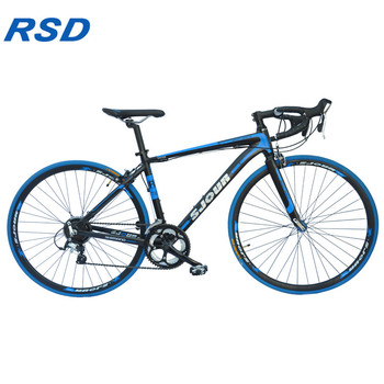 2018 New year promotions 26inch aluminium frame 21speed road bike/dual disc-brake road bicycle on sale with CE CCC