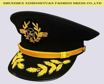 Best quality india embroidery caps Sichuan Airlines pilot caps for sale b64dc501610