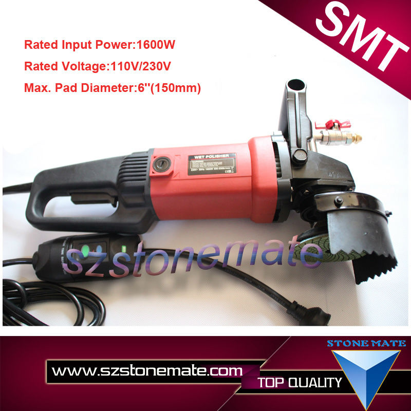 Hot sale SMP005 Hand Wet Granite Polishing Machine