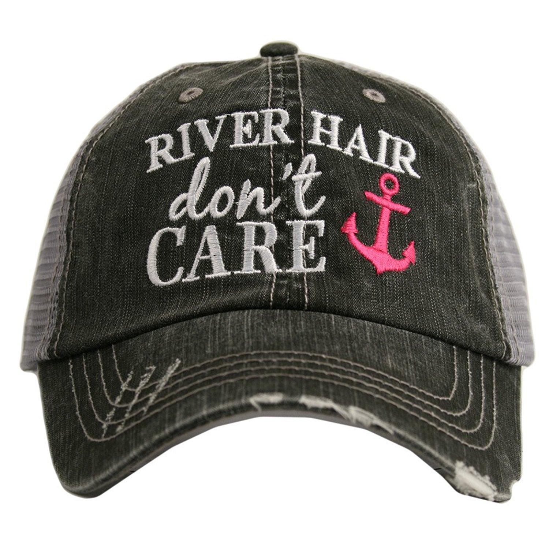Katydid KDC-TC-164 Hot Pink River Hair Don't Care Trucker Hat