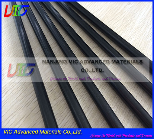 High quality pultruded carbon rod with economy price,top quality pultruded carbon rod in china