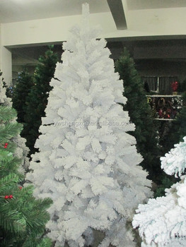 decorated white feather christmas tree - Feather Christmas Tree Decorations