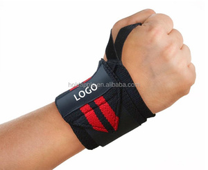 Wrist Wraps Support for Powerlifting, Weightlifting & Deadlift Workout - Weight Lifting Wrists Straps - Bodybuilding, Crossfit