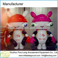 Lovely Inflatable Advertising Inflatable Cartoon Body Inflation
