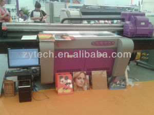 UV flatbed printer--UVC1309 Small size /ZHONGYE