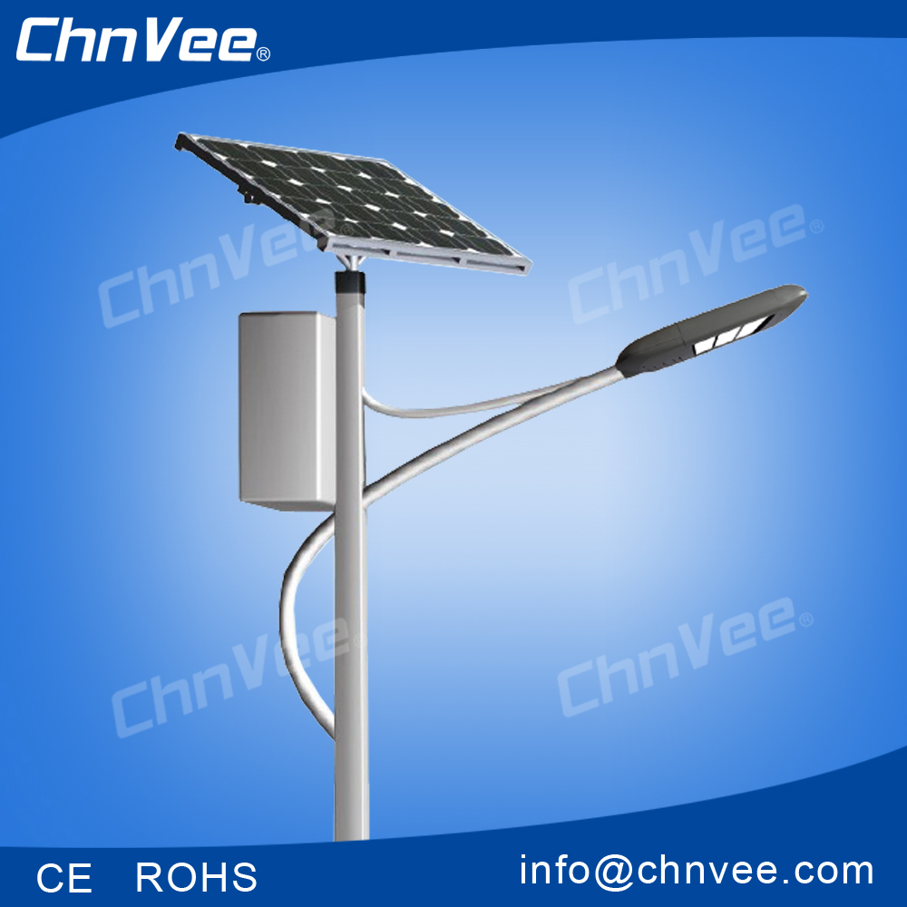 solar street lamp/ lampu jalan solar New high power bridgelux led street lighting