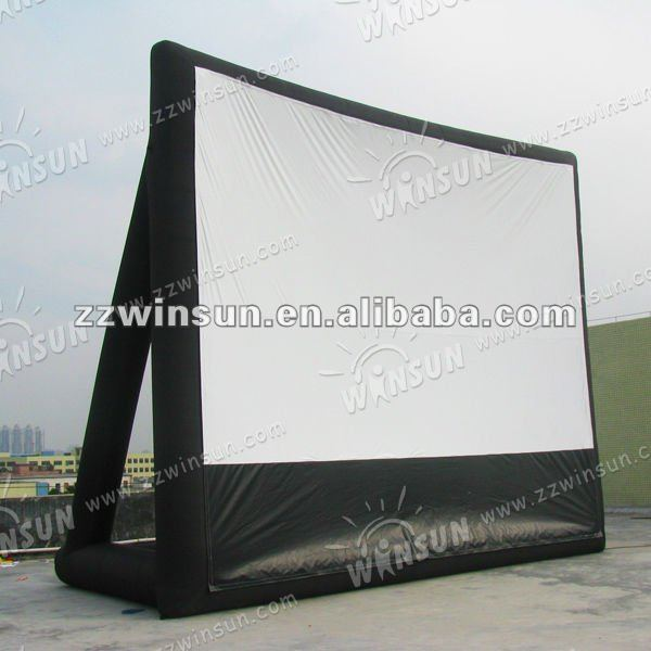 hot selling used inflatable movie screen
