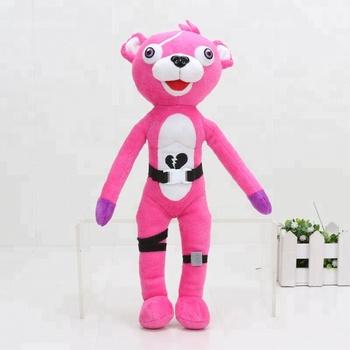 fortnite pink bear team leader plush toy stuffed dolls buy