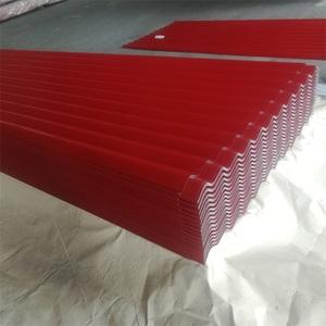 Hebei manufacturer Full hard corrugated roofing overlap