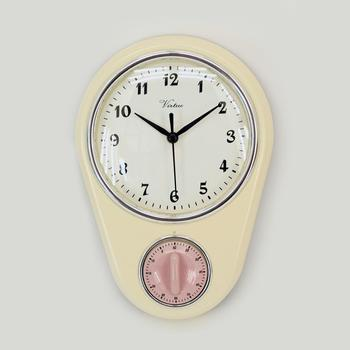 Modern Kitchen Clock With Timer For Wall - Buy Antique Kitchen  Clocks,Modern Kitchen Clocks,Kitchen Time Clock Product on Alibaba.com